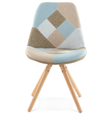Bohemy Chair comes in a multi-colour finish with a modern style and is available from roomshaped.co.uk