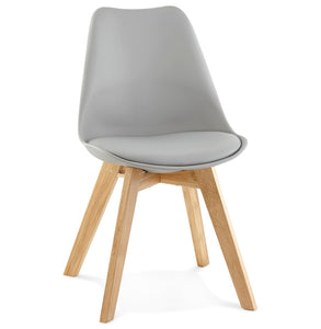 Tylik Chair comes in black and blue and grey and white with a modern style and is available from roomshaped.co.uk