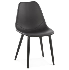 Wilson Chair comes in black with a modern style and is available from roomshaped.co.uk