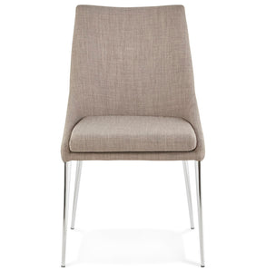 Boxer Chair comes in grey with a modern style and is available from roomshaped.co.uk