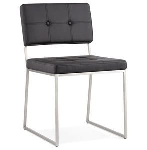 Gami Chair comes in black and white with a modern style and is available from roomshaped.co.uk