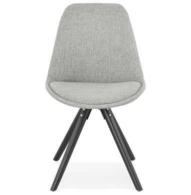 Brasa Chair comes in black and grey and a natural finish with a modern style and is available from roomshaped.co.uk