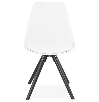 Momo Chair comes in black and grey and white with a modern style and is available from roomshaped.co.uk