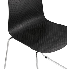 Load image into Gallery viewer, Bee Chair comes in black and blue and grey and pink and white with a modern style and is available from roomshaped.co.uk