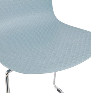 Bee Chair comes in black and blue and grey and pink and white with a modern style and is available from roomshaped.co.uk