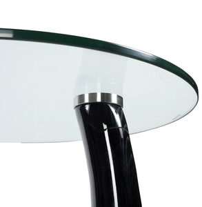 Tear Side Table comes in black and red and white with a modern style and is available from roomshaped.co.uk