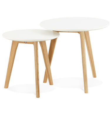 Espino Side Table Set has a modern style and is available from roomshaped.co.uk