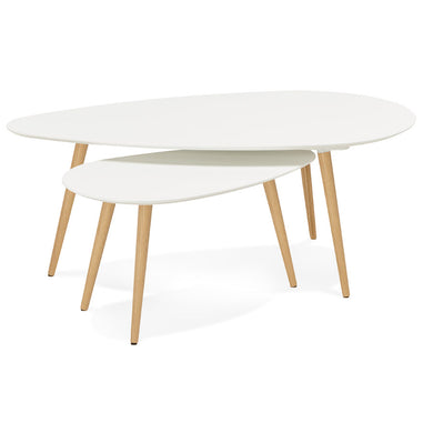 Gosmi Side Table Set has a modern style and is available from roomshaped.co.uk
