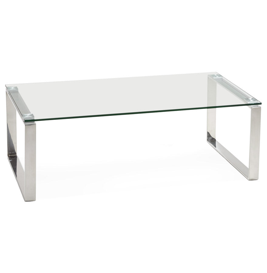 Minnesota Side Table comes in silver with a modern style and is available from roomshaped.co.uk