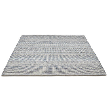 Yllie Rug comes in blue with a modern style and is available from roomshaped.co.uk