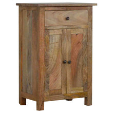 Load image into Gallery viewer, Harriet Cupboard comes in an oak finish with a country style and is available from roomshaped.co.uk