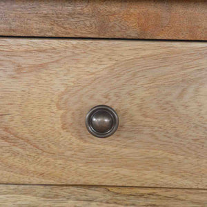 Harriet Cupboard comes in an oak finish with a country style and is available from roomshaped.co.uk