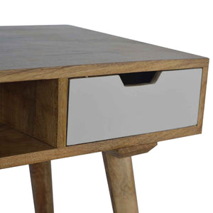 Missenden Desk comes in white with a painted style and is available from roomshaped.co.uk