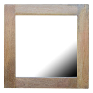 Lukas Mirror comes in an oak finish with a country style and is available from roomshaped.co.uk