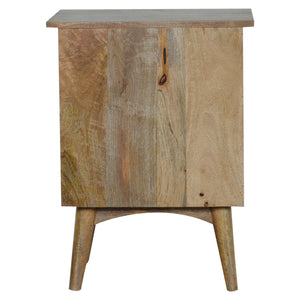 Jonas Low Chest comes in an oak finish and is available from roomshaped.co.uk