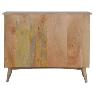 Elke Chest of Drawers comes in an oak finish with a country style and is available from roomshaped.co.uk