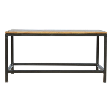 Arri Coffee Table comes in an oak finish with a metallic style and is available from roomshaped.co.uk