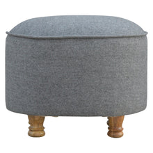 Load image into Gallery viewer, Alexis Stool comes in grey with a country style and is available from roomshaped.co.uk