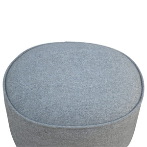 Alexis Stool comes in grey with a country style and is available from roomshaped.co.uk