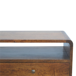 Sele Console Table has a deco style and is available from roomshaped.co.uk