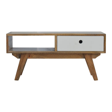 Aya Low Unit comes in grey with a painted style and is available from roomshaped.co.uk