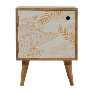 Nora Bedside Cabinet comes in white with a painted style and is available from roomshaped.co.uk