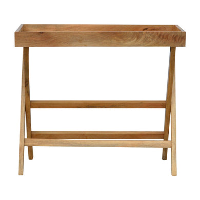 Gordon Butler Tray comes in an oak finish with a studio style and is available from roomshaped.co.uk