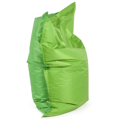 Fat Beanbag comes in green and grey and orange and pink with a modern style and is available from roomshaped.co.uk