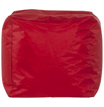 Load image into Gallery viewer, Funky Beanbag comes in red with a modern style and is available from roomshaped.co.uk