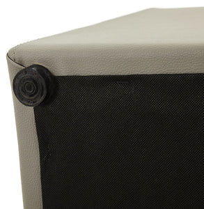 Rubik Stool comes in black and grey and red and white with a modern style and is available from roomshaped.co.uk