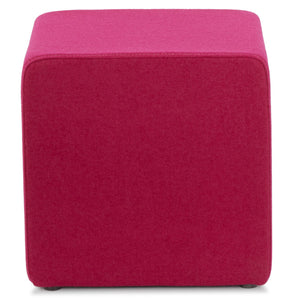 Formo Stool comes in grey and pink with a modern style and is available from roomshaped.co.uk