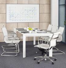 Load image into Gallery viewer, Yotta Office Chair comes in black and white with a modern style and is available from roomshaped.co.uk