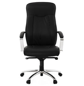 Chester Office Chair comes in black with a modern style and is available from roomshaped.co.uk