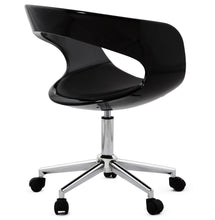Load image into Gallery viewer, Felix Office Chair comes in black and white with a modern style and is available from roomshaped.co.uk