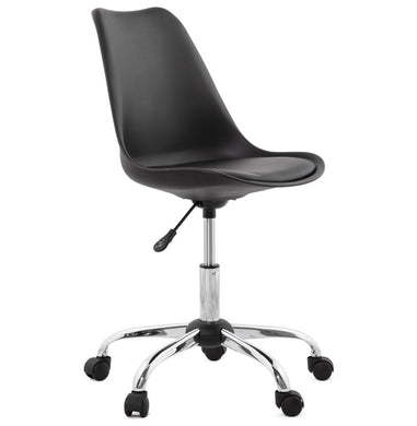 Edea Office Chair comes in black and white with a modern style and is available from roomshaped.co.uk