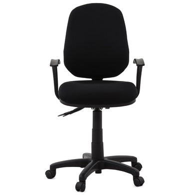 Betsy Office Chair comes in black with a modern style and is available from roomshaped.co.uk