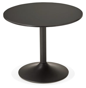 Konrad Office Desk comes in black with a modern style and is available from roomshaped.co.uk