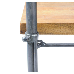 Andri Bench comes in a natural finish with a new industrial style and is available from roomshaped.co.uk