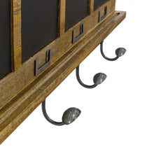 Load image into Gallery viewer, Andri Coat Hooks comes in a natural finish with a new industrial style and is available from roomshaped.co.uk