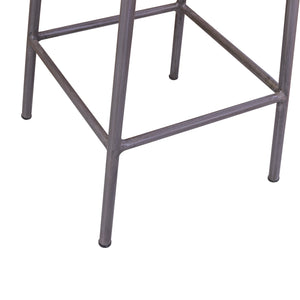 Andri High Stool comes in a natural finish with a new industrial style and is available from roomshaped.co.uk