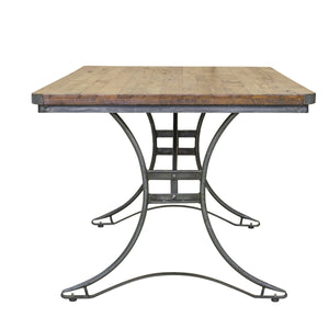 Andri Table comes in a natural finish with a new industrial style and is available from roomshaped.co.uk