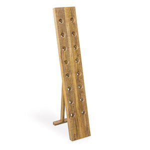 Andri Wine Bottle Rack comes in a natural finish with a new industrial style and is available from roomshaped.co.uk