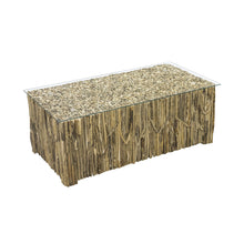Load image into Gallery viewer, Beam Coffee Table comes in a natural finish with a recycled style and is available from roomshaped.co.uk