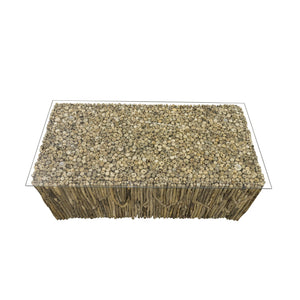 Beam Coffee Table comes in a natural finish with a recycled style and is available from roomshaped.co.uk