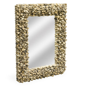 Beam Nap Mirror comes in a natural finish with a recycled style and is available from roomshaped.co.uk