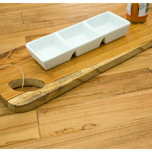 Cam Serving Board comes in a natural finish with a city style and is available from roomshaped.co.uk