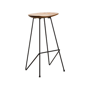 Chai Bar Stool comes in black and brown and a natural finish with a java style and is available from roomshaped.co.uk