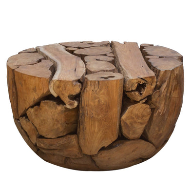 Chai Coffee Table comes in brown and a natural finish with a java style and is available from roomshaped.co.uk