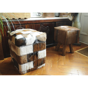 Chau Box Stool comes in a natural finish with a recycled style and is available from roomshaped.co.uk