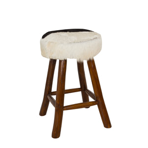 Chau Low Bar Stool comes in a natural finish with a recycled style and is available from roomshaped.co.uk